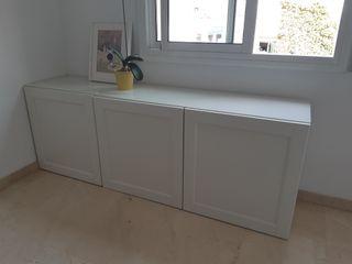 Mueble IKEA BESTA Blanco 180x60x40