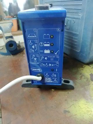 cargador silla ruedas