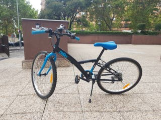 Bicicleta Decathlon Btwin llanta 24