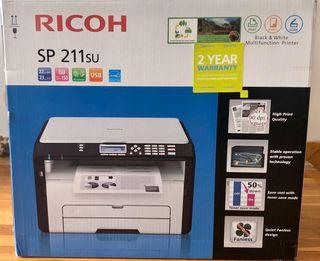Impresora Ricoh SP 211SU multifunción monocromo