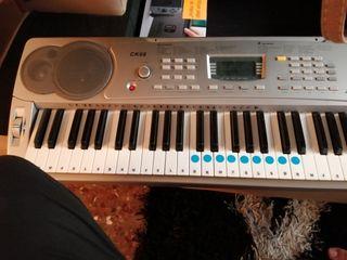 teclado piano sensitivo