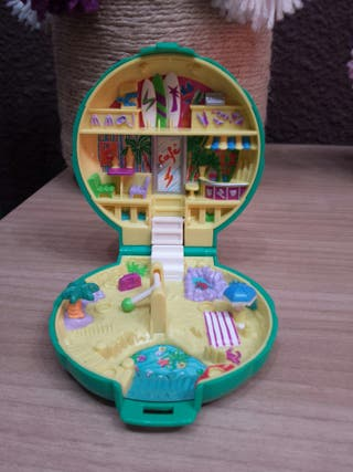 Polly Pocket polvera beach party 1989