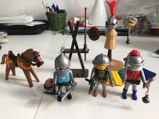 Playmobil 3668 Entrenamiento caballeros