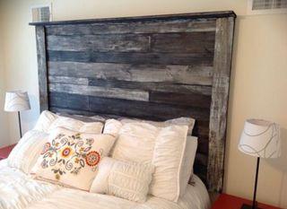 Cabecero cama rustico madera palet todas medidas