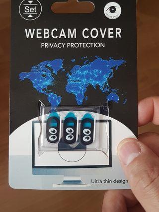 3 tapa para web cam. Para privacidad