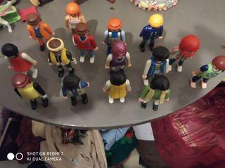 lote grande variado de muñecos Playmobil