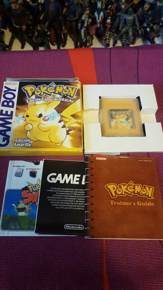 pokemon pikachu amarillo nintendo game boy
