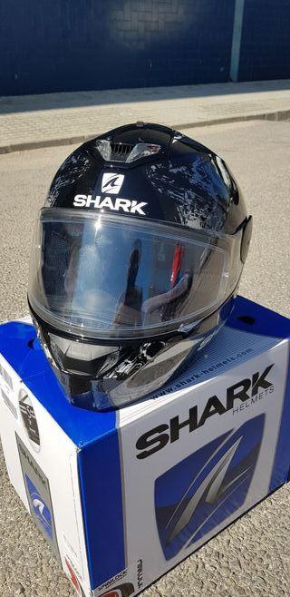 casco Shark Skwal nuevo. talla M