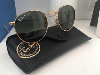 Gafas de sol RAYBAN ROUND METAL POLARIZADA nueva