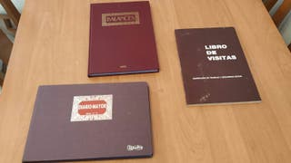 libro de visitas, diario mayor y libro de balances