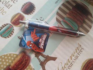21 bolígrafos de Spiderman, marca registrada