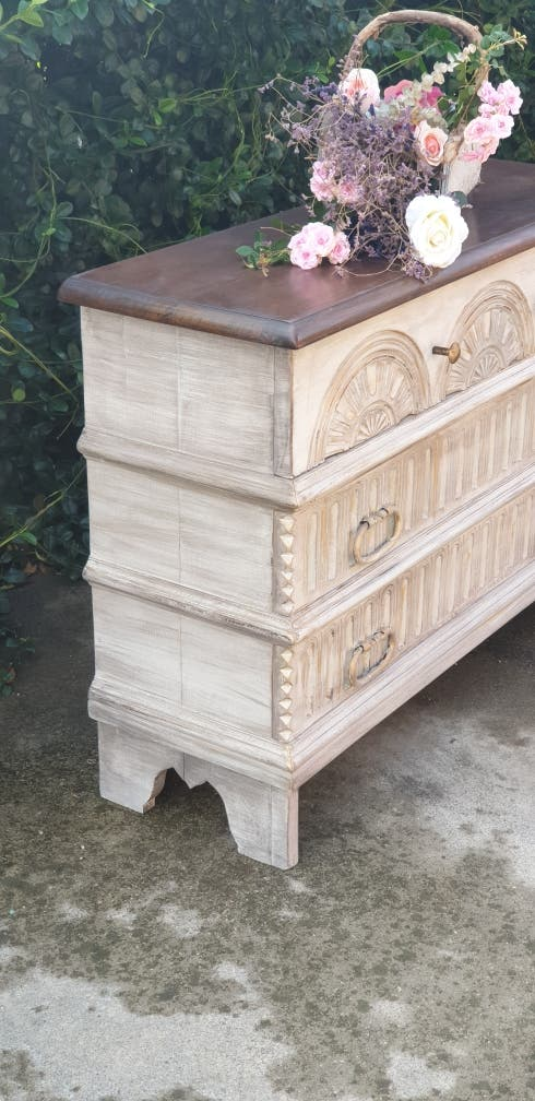 Comoda cajonera mueble antiguo rústico