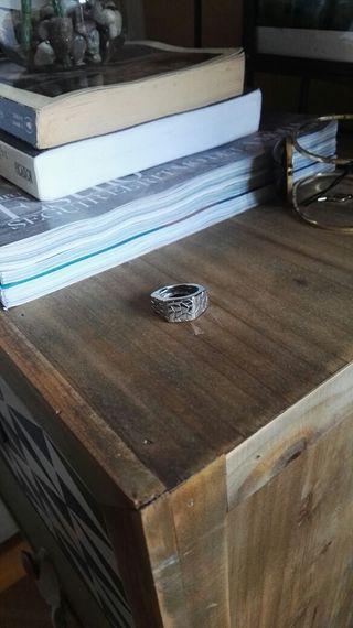 Joid'art anillo plata de ley 925 impecable