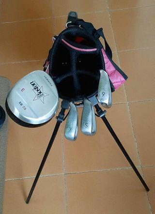 Dos sets palos de golf