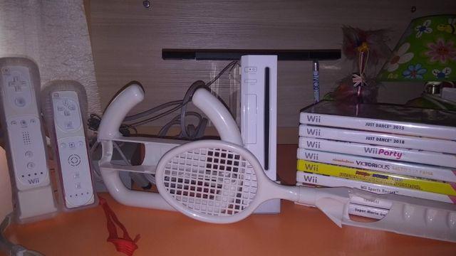 Wii Nintendo 2006 + accesorios y juegos