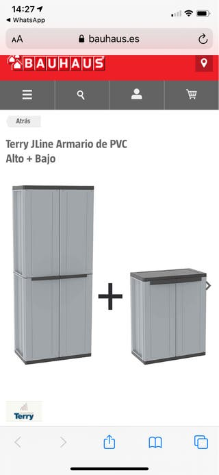 Armario de PVC nuevo!