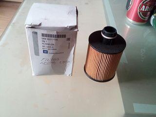 filtro aceite opel 1.9 cdti