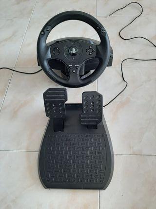 Volante y pedales ps4 o ps3