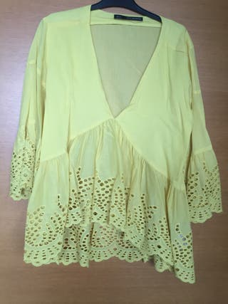 Blusa Sfera collection amarilla