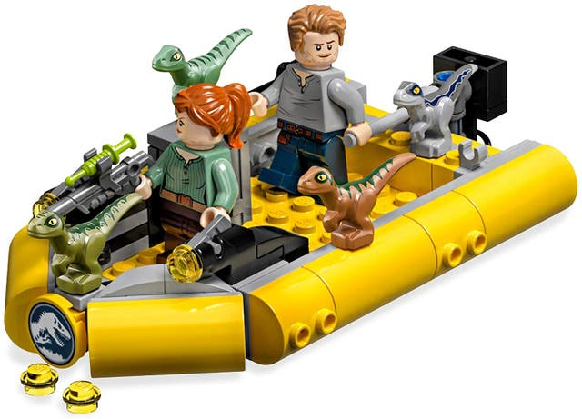 Jurassic World -T. Rex vs Dinosaurio Robótico LEGO