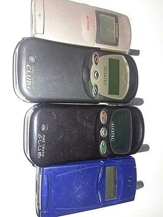 4 móviles antiguos