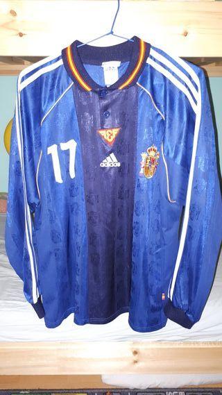 camiseta jugador selección