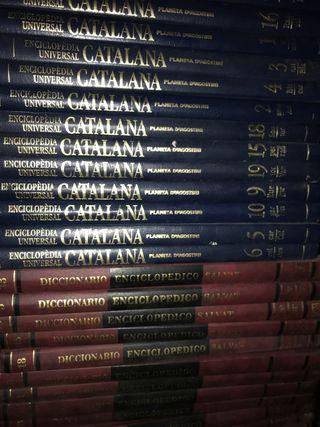 Diccionarios enciclopedicos catalán y castellano