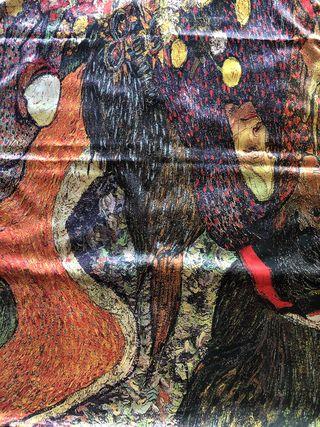 Fulard de seda precioso nuevo