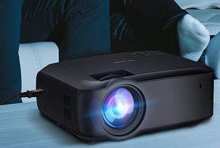 mini proyector 3200 lumenes, nuevo, HDMI VGA USB