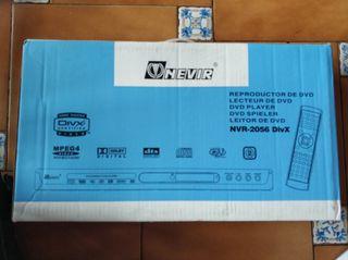 NEVIR Reproductor DVD/MP3/CD