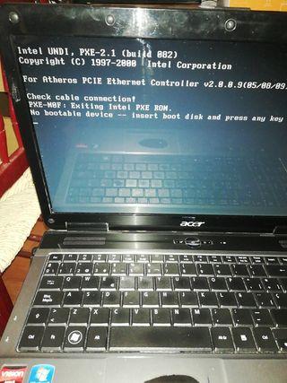 Portátil Acer aspire 5541 para piezas