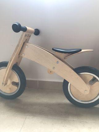 Bicicleta infantil madera (NUEVA)
