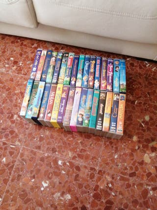 cintas de video disney