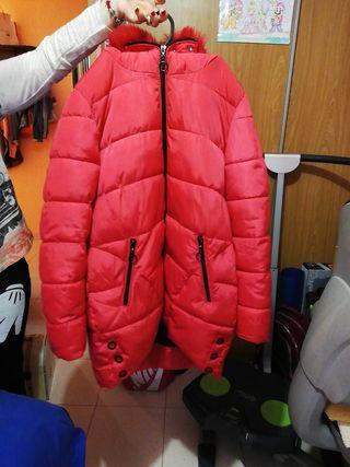 abrigo rojo piruleta