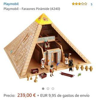 Playmobil faraones pirámide
