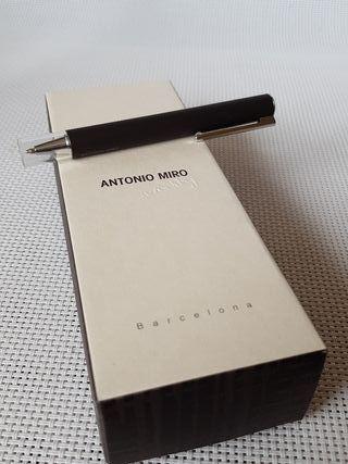 Boligrafo Inoxcrom Edicion Antonio Miro