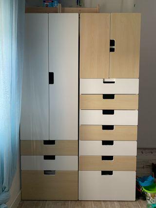 MÓDULOS DE ARMARIO IKEA