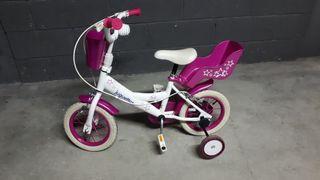 """Bicicleta Jugettos 12"""", de 3 a 6 años"""