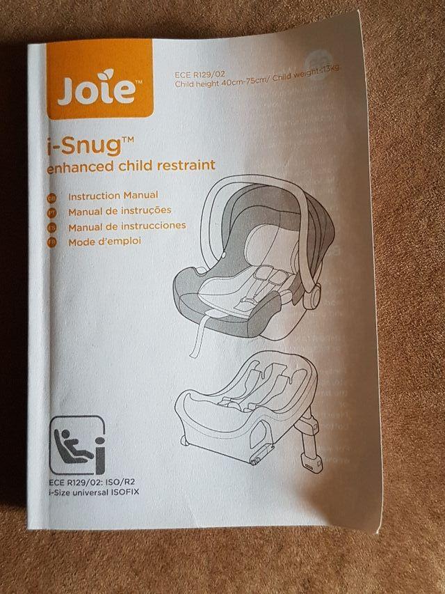 car seat joie
