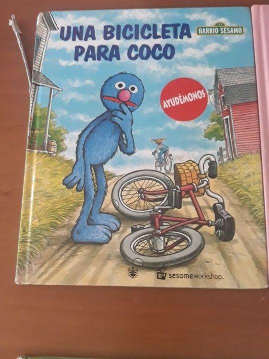 Pack 4 libros de Barrio Sesamo