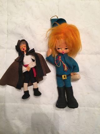 Muñecos antiguos de antaño