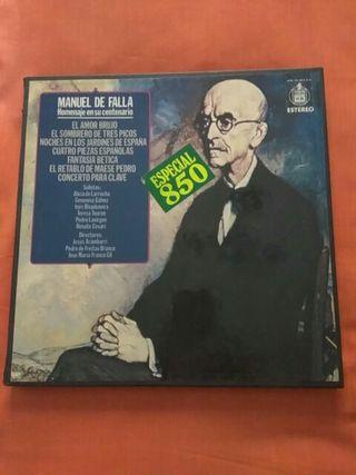 Vinilos Manuel de Falla. 3 Vinilos.