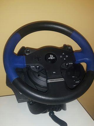 volante T150 + pedals T3PA + palanca TH8A