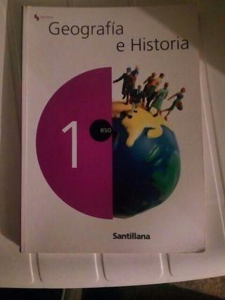 libro de geografía e historia 1°ESO
