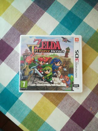 Videojuego The Legend of Zelda Triforce Heroes