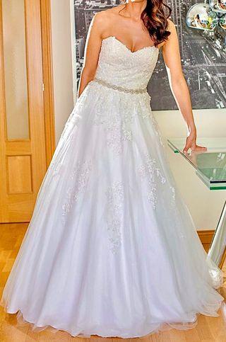 Vestido de novia T38 novia/T34 europea