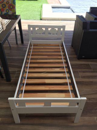 2 CAMAS KRITTER IKEA COMPLETAS