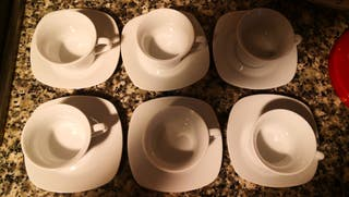6 tazas de café/té