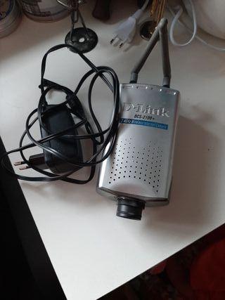 Cámara de seguridad dlink dcs-2100+