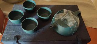 juego de té arcilla de Xijing